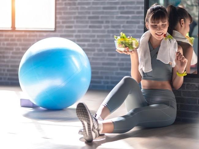 運動前的飲食與時間