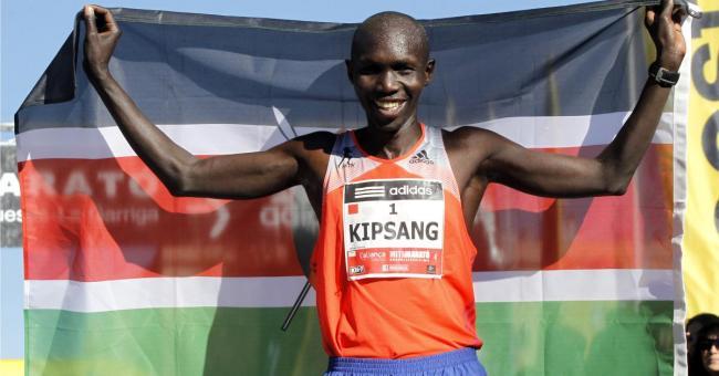 肯亞馬拉松長跑運動員Wilson Kipsang