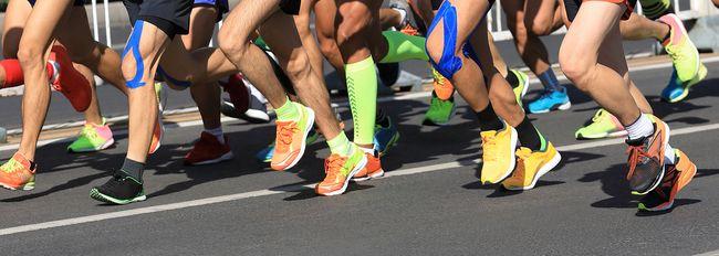 馬拉松跑者累積跑量
