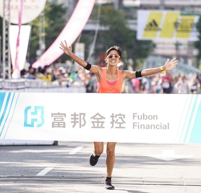 2019台北馬拉松國內女子冠軍朱盈穎