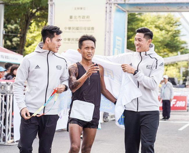 2019台北馬拉松國內冠軍蔣介文