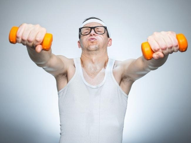 健身訓量強度的設定
