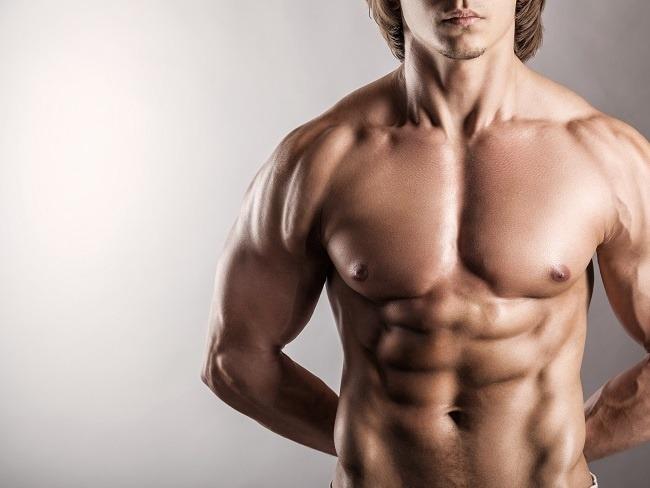 腹肌是由深層與淺層肌肉所組成。