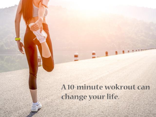 每天動10分鐘也能延緩血管老化