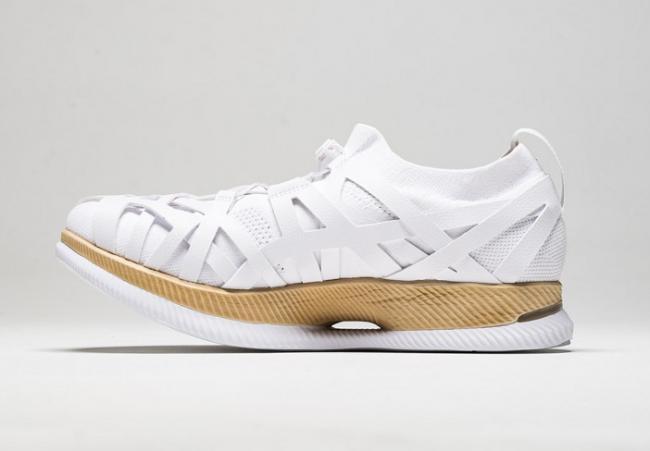 ASICS攜手日本建築師隈研吾先生推出的限量跑鞋