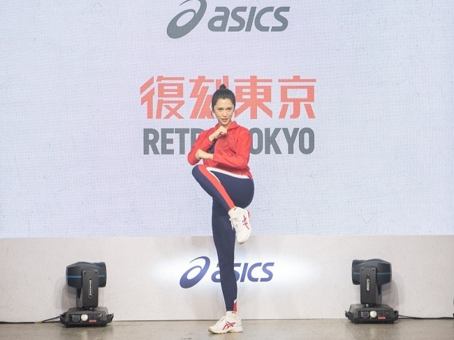 ASICS RETRO TOKYO 復刻東京系列應援大使劉奕兒