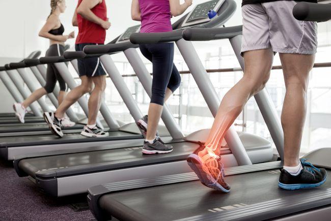 跑步機對脛骨的應力