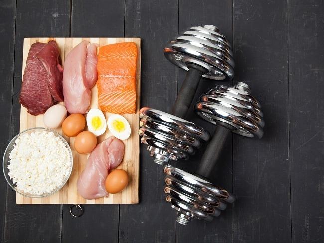 增肌者的肉類飲食