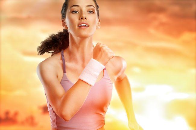 跑步時體溫升高