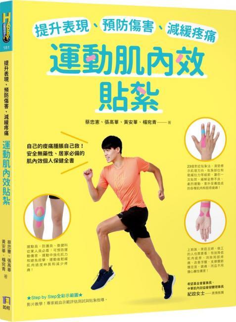 提升表現、預防傷害、減緩疼痛,運動肌內效貼紮