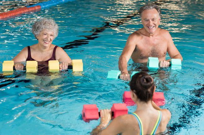 有氧運動如游泳