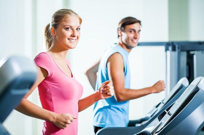 跑步機上耐力與性耐力相關