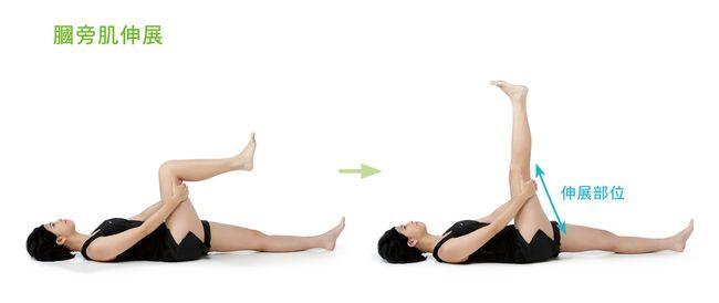伸展大腿後側膕旁肌