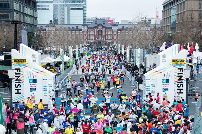 東京馬拉松會場