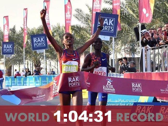 女子半馬世界紀錄1:04:31