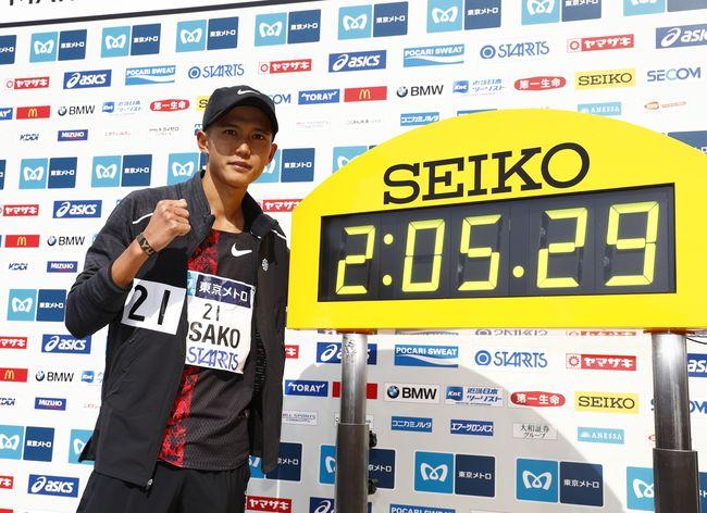 大迫傑2:05:29日本全馬紀錄