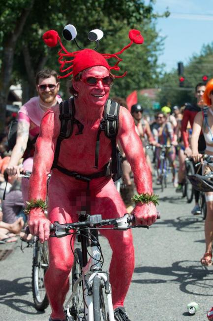裸體單車日西雅圖活動