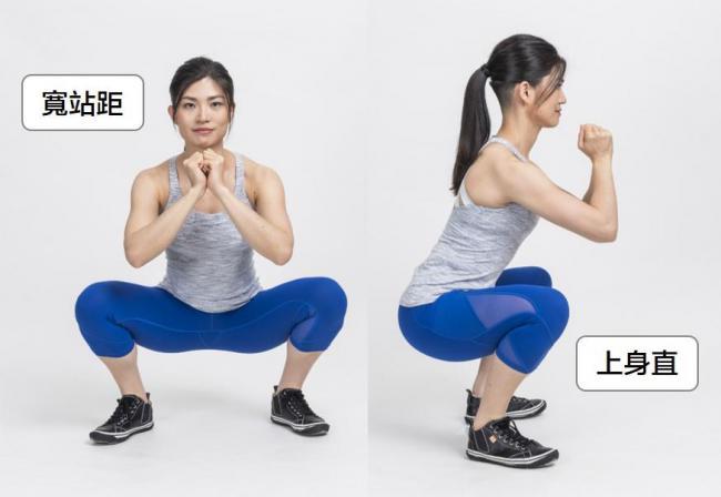 脊椎前彎的深蹲站距