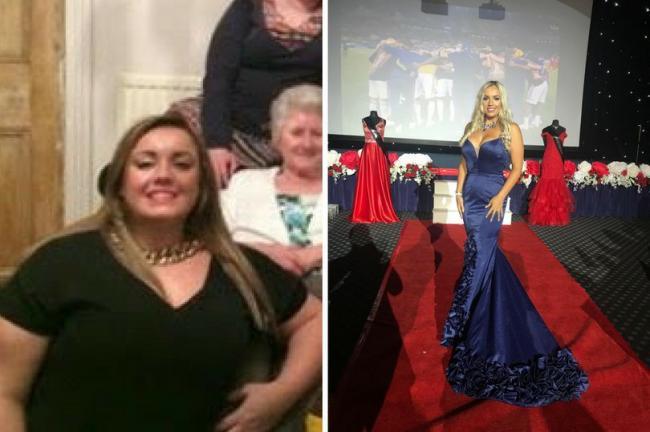 減下50公斤的Jennifer Atkinklg 贏得2020年英國小姐后冠