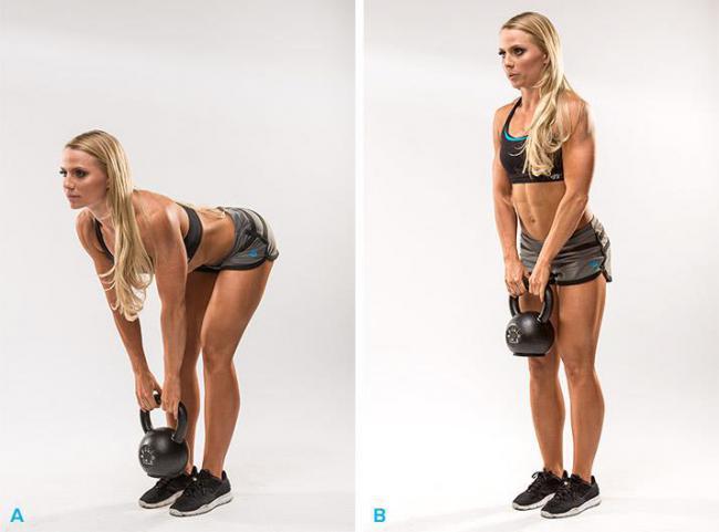 壺鈴硬舉適合核心與臀部訓練