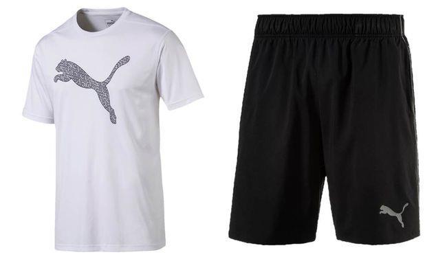 PUMA訓練系列的跳豹T恤