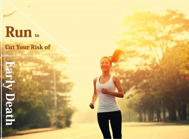 跑步減少27%過早死亡風險