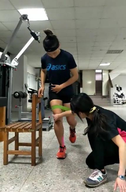 物理治療師協助運動治療