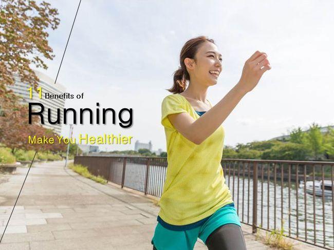 跑步對健康的好處