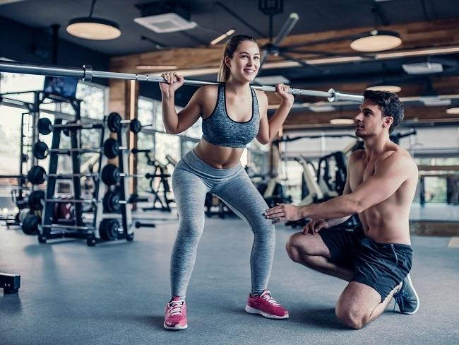 資深經驗豐富的健身教練