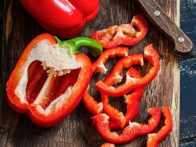紅甜椒的維生素C具有增強免疫力