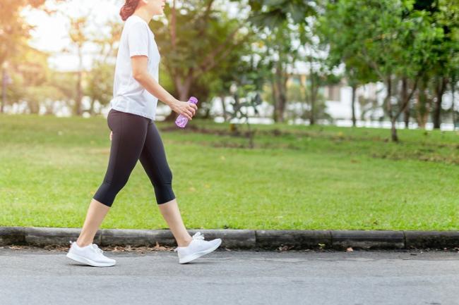 走路的強度是關鍵