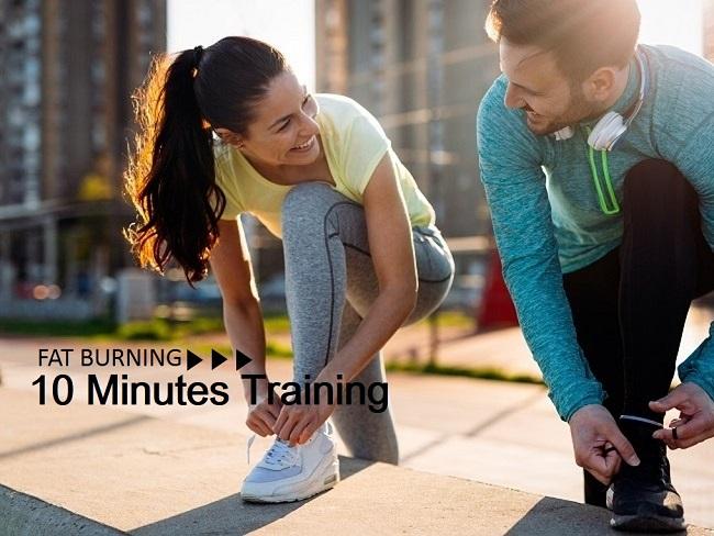 快速燃脂10分鐘訓練