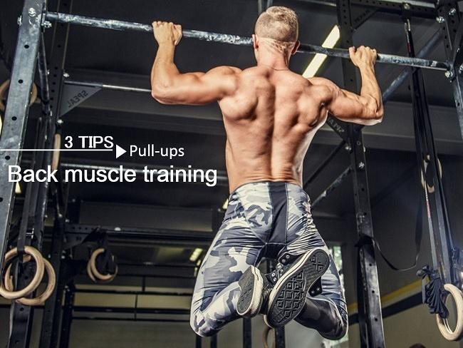 背肌招牌訓練動作引體向上
