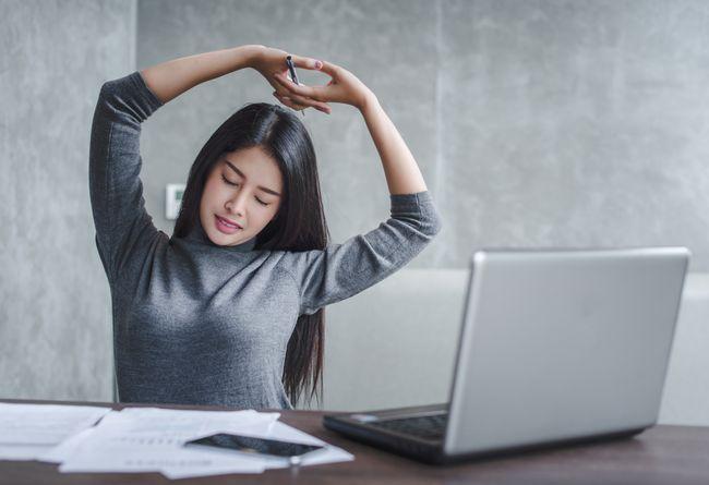 工作中增加肌肉活動