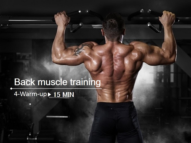 背肌訓練前必需要做的4個熱身動作