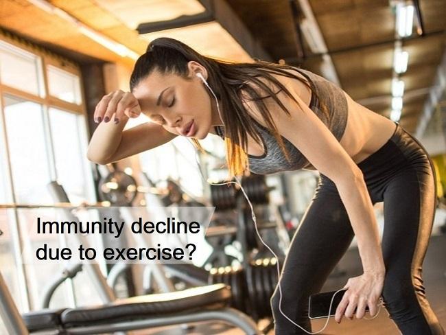 免疫力下降是因為運動