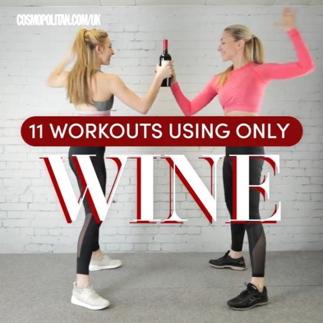 紅酒居家訓練動作