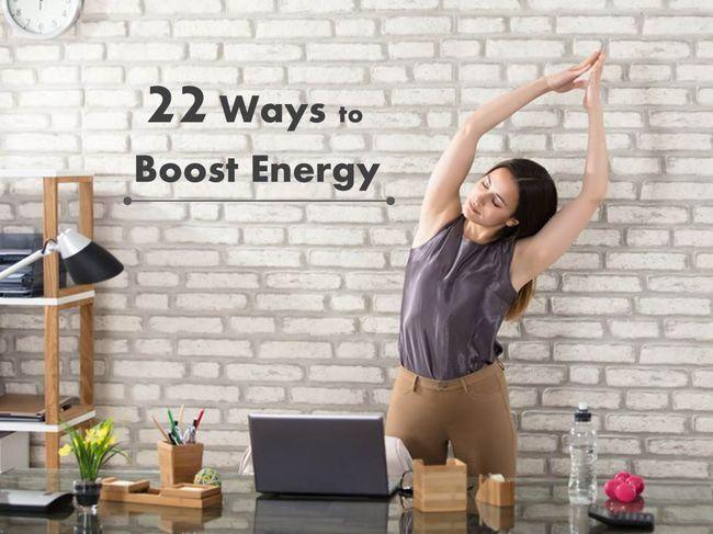 工作時提升能量