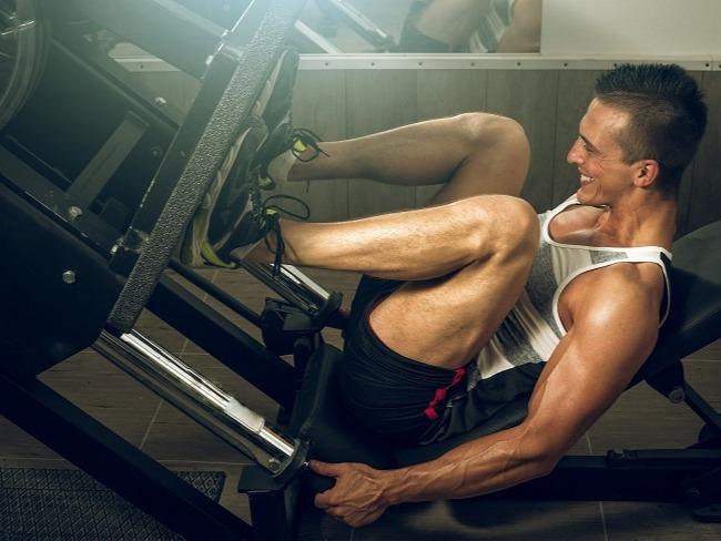 肌肉採取分組式訓練