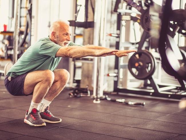 腿部的複合式訓練