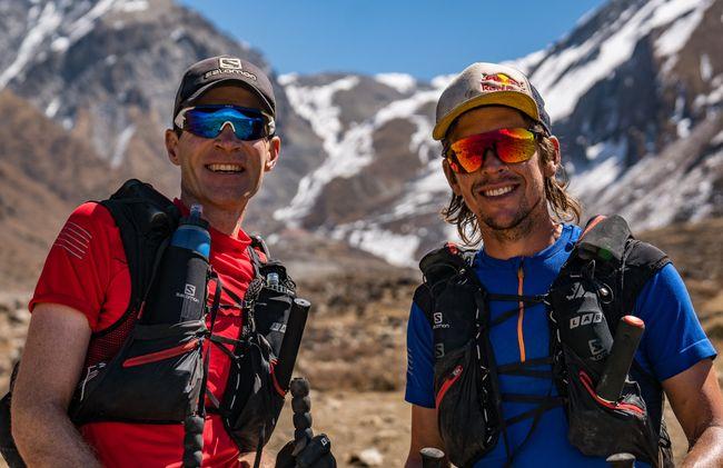 Ryan Sandes和Ryno Griesel一起挑戰在喜馬拉雅山跑步1504公里
