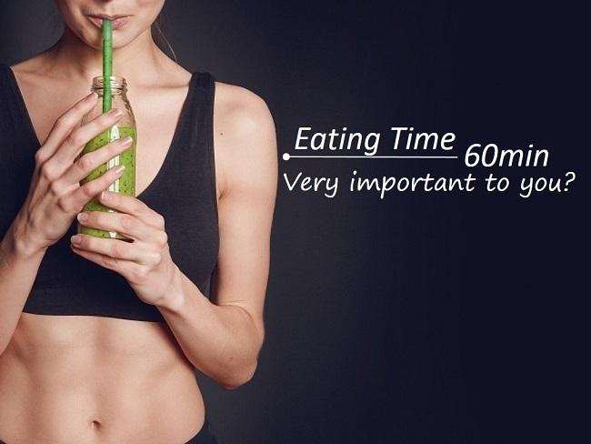 運動後60分鐘要進食