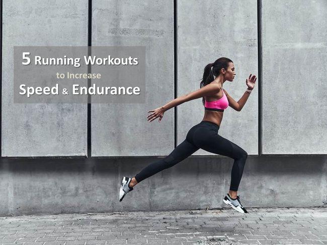 跑步訓練菜單提升速度、耐力、爆發力