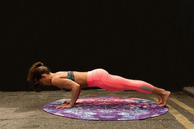 皮拉提斯運動重點在核心肌群