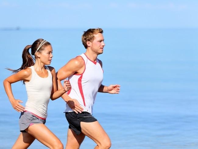 女性在有氧運動狂贏男性