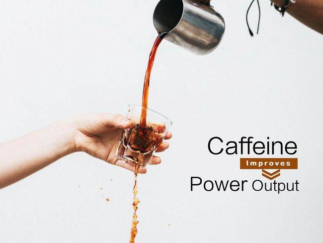 運動前喝黑咖啡增加爆發力