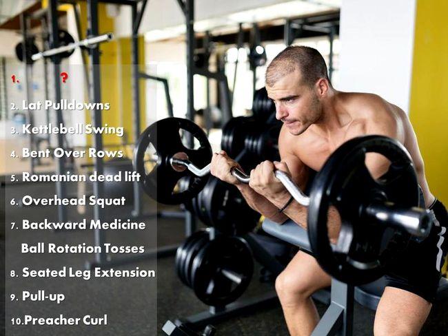 容易導致受傷的危險訓練動作