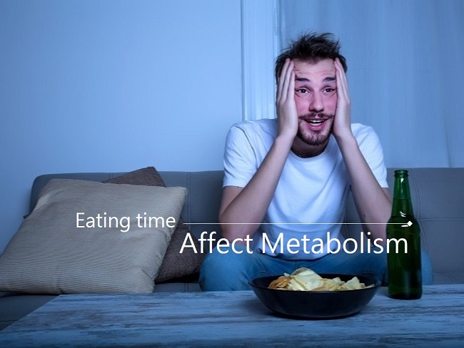 進食的時間與新陳代謝