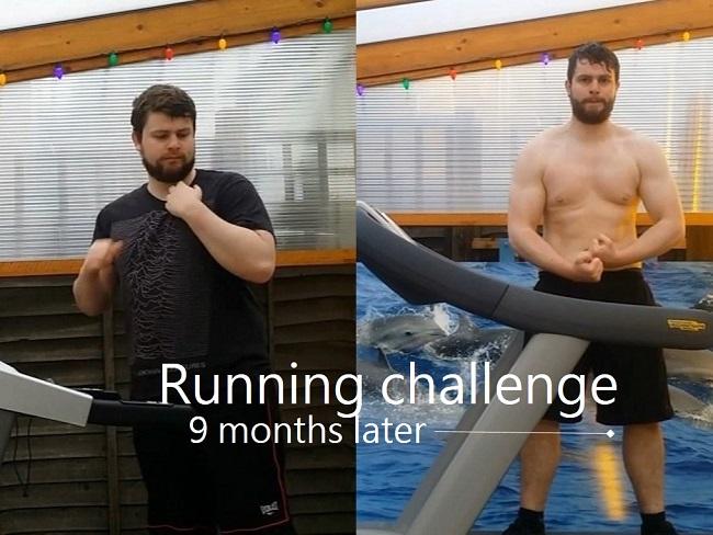 跑步減肥有效