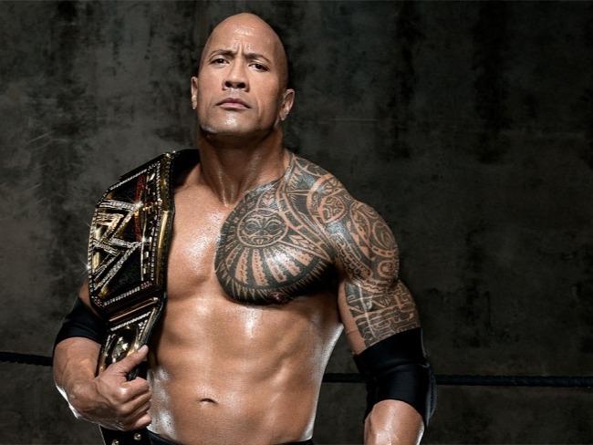 巨石強森偉大的摔角手